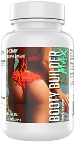 Booty Builder Max | Enhancement Pills | Bigger and Firmer Glutes - Butt Lift | Saw Palmetto