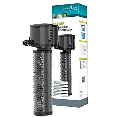 allpondsolutions Aquarium Internal Fish Tank Filter Pump (1500L/H)