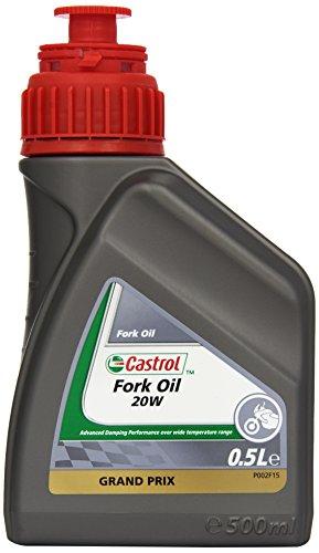 Castrol Fork Oil SAE - Aceite para Motor, 20W, Botella de 500ml