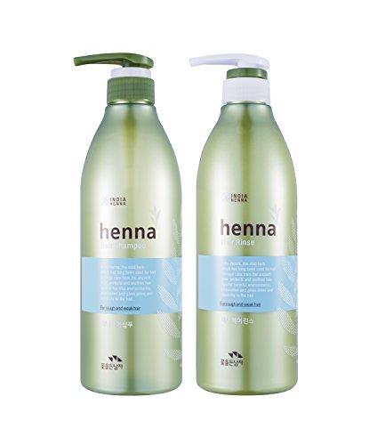 HENNA HAIR SHAMPOO 720ml + RINSE 720ml