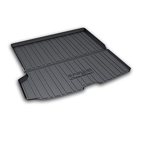 NTUOO Coche Alfombrillas Maletero, para Volvo XC90 2015 2016 2017 2018 2019 Trunk Mat Tray Boot Liner Cargo Moquetas Protector Floor Pads, Auto Interior Accessories