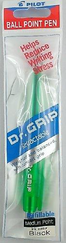 'Pilot Dr. Grip Ball Point lápiz verde, mina (intercambiable) Negro M
