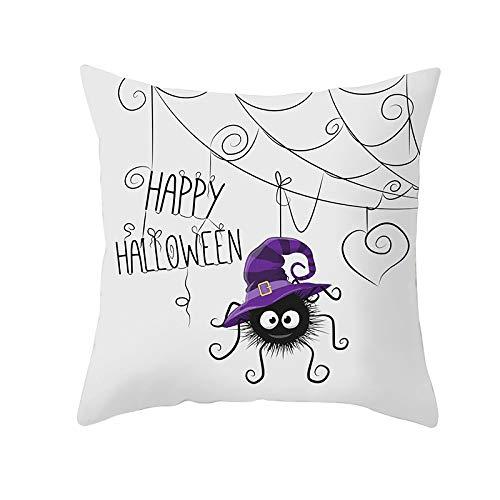 DuangDuang Owl series Halloween pillowcase sofa cushion waist pillowcase Halloween home decoration