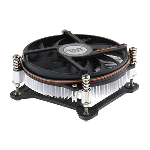 MagiDeal Ventilador de Refrigeración de CPU de Ordenador Hidráulico Disipador de Calor de 9 Cm para Intel 1150 1155 1156