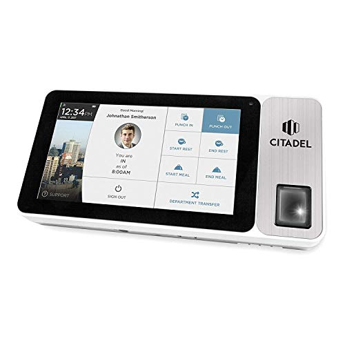 Citadel Portable Cloud-Based Touch Screen Time Clock