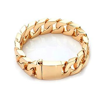 Best mens gold bracelets 24k Reviews