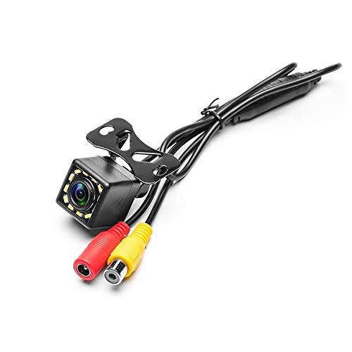 Camecho Vehicle Backup Camera Waterproof Car Rear View Camera 170° Wide Angle 12 LED Night Visions Backup Reversing Parking Cameras