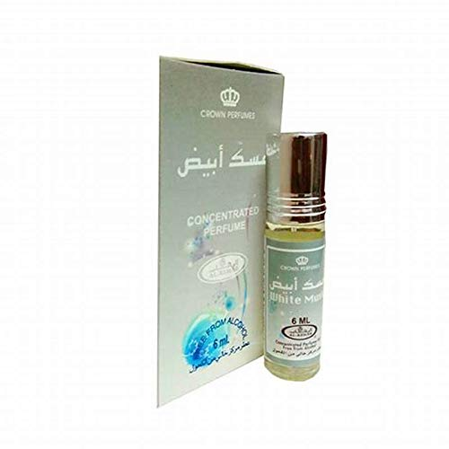 Musc Parfum Al Rehab WHITE MUSK 6ml 100% olie NOTEN: Witte musk, poederig, dierlijk, amber
