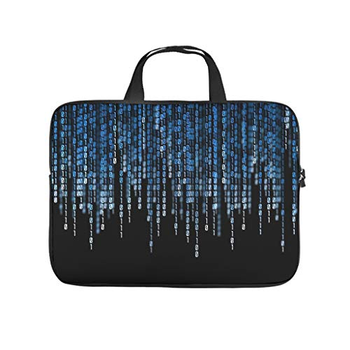 License Plate 10110 Laptop Bag Shockproof Laptop Protective Case Pattern Notebook Bag for University Work Business