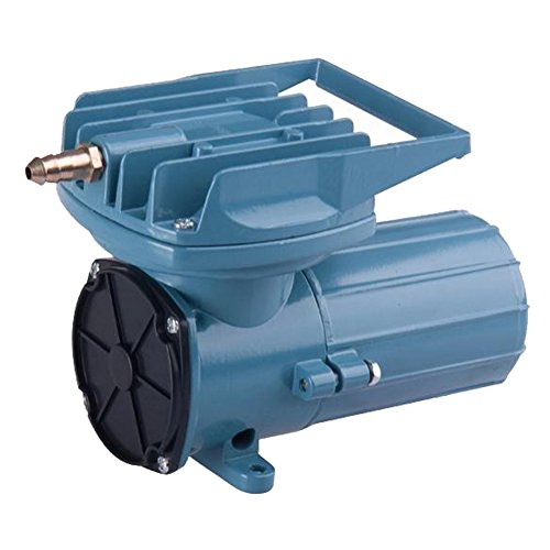 DC 12V 68Lpm/Min 35W Aquarium Air Pumps 1077GHP Fish Pond Tanks Aquaculture Hydroponics Portable Air Pump Compressor Aerator Oxygen Supplies