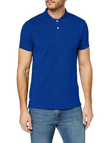 ESPRIT Herren Classic Piqué Poloshirt, 410/BRIGHT Blue, XL