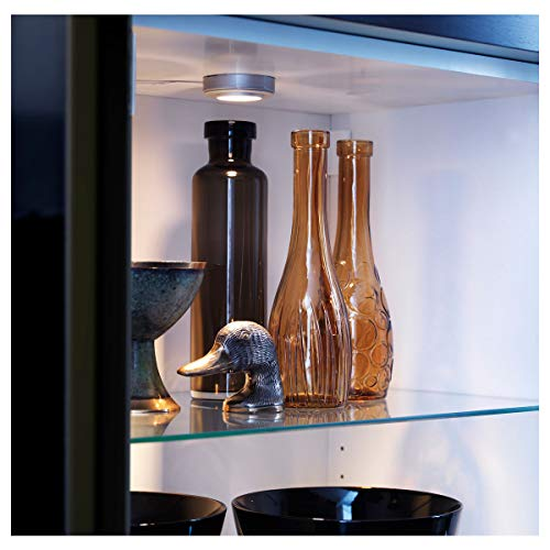IKEA BESTÅ - Estantería de cristal (56 x 36 cm)