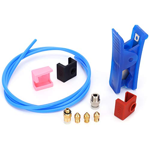 PTFE Tube Pneumatic Connector, Durable 3D Printer PTFE Tube, Wear‑Resistant Plastic Brass for 3D Printer Printing
