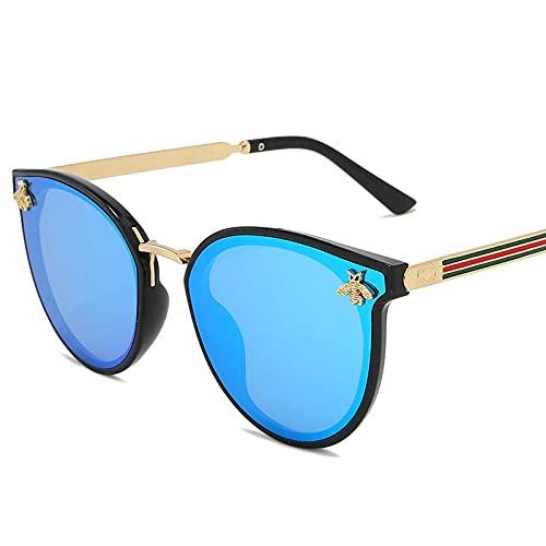 Gafas de sol tricolor para mujer europeas y americanas de moda gafas de sol