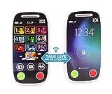 INFINIFUN 10418 First Phone walkie Talkie, White