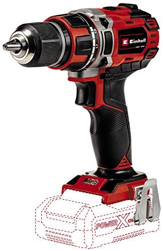 Einhell Akku-Bohrschrauber TE-CD 18/50 Li BL-Solo Power X-Change (Li-Ion, 18V, 50 Nm, 13 mm Bohrfutter, 2-Gang-Getriebe, bürstenloser Motor, Drehzahl-Elektronik, Softgrip, ohne Akku und Ladegerät)