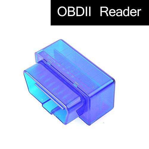 EKYLIN Auto OBD2 Leser-Diagnose 16-Pin Schnittstelle Mini drahtloses Bluetooth OBD II Scanner-Werkzeug für Android GPS Navi System Tablette PC Torque Lite/Pro DashCommand OBD Car Doctor