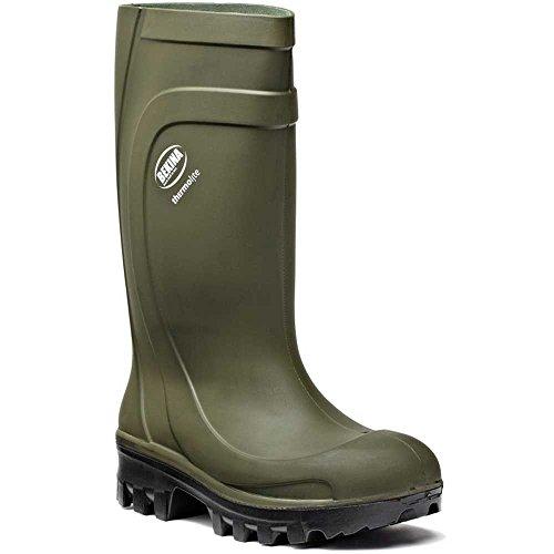 Bekina ThermoLite Polyurethaan (PU) Veiligheid Wellington Laarzen - Groen - Maat 11 UK