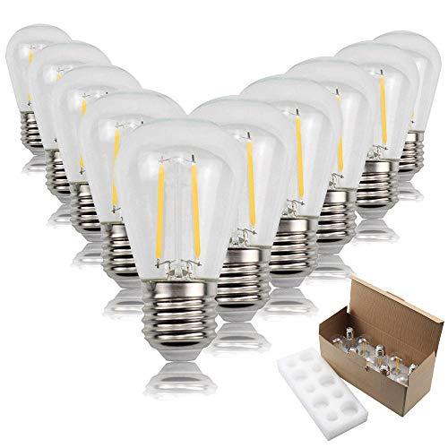 Led Birne Glühlampe Birne 10 Stücke S14 Antike Lampe Led Filament Lampe Warmes Licht String Garten Dekoration Kronleuchter Festzelt