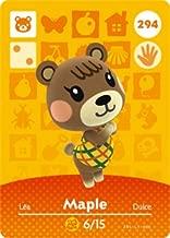 Maple - Nintendo Animal Crossing Happy Home Designer Amiibo Card - 294