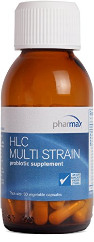 Pharmax - HLC Multi Strain - Probiotic Supplement to Support Gut Flora - 60 Capsules