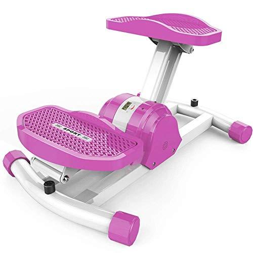 8bayfa Indoor Aerobic Fitness - huishouden aerobic fitness schommel draadloos Bluetooth stepper thuis kleine mini gewicht-verlies machine voetmassage fitness uitrusting, afmetingen: 54,5 x 35,5 x 23 cm