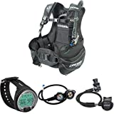 Cressi Start Premium Tauchjacket BCD+Leonardo - Premium Tauchcomputer Air/Nitrox und Tiefenmesser...