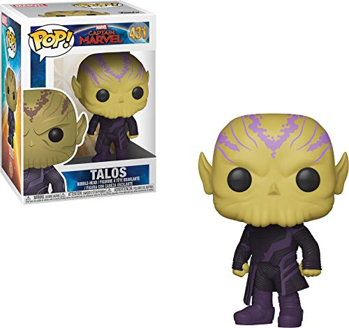 Funko 36378 Pop! Marvel: Captain MarvelTalos, Multicolor