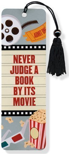 Never Judge A Book By Its Movie Beaded Bookmark by Peter Pauper Press Inc. (2013)
