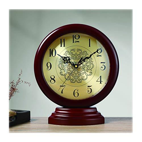 zxb-shop Reloj de Péndulo Hogar Retro Reloj de Escritorio /