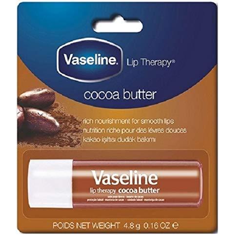 6er Pack - Vaseline Lipcare/Lippenstift - Cocoa Butter - 4,8 g