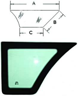 All States Ag Parts Cab Glass - Door Lower LH Case 570MXT 580SK 580L 570LXT 590 590 Super L 580K 580 Super L R52883