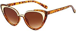 UKKD - Gafas de Sol Niños Y Niñas Gafas De Sol Moda Retro Niños Gafas De Sol Gafas De Metal Clásicas Uv400