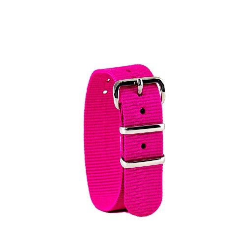 EasyRead time teacher WS-P Uhrenarmband, Rosa (weitere Farben erhältlich)