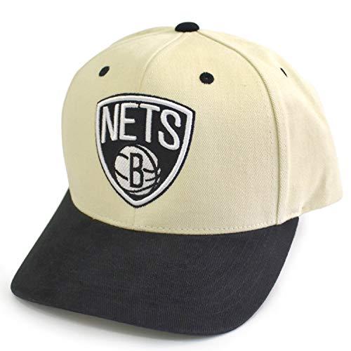 Mitchell & Ness NBA Pro Crown Snapback Cap Brooklyn Nets White/Black