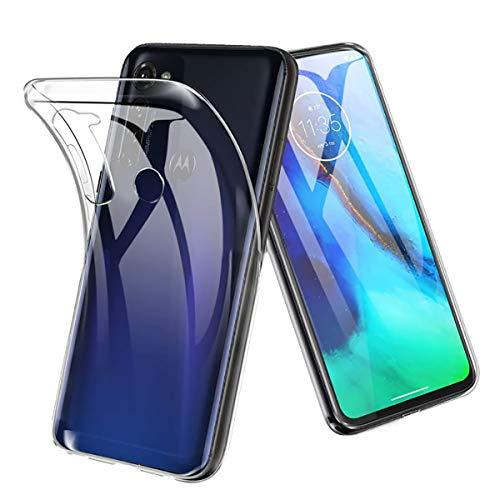 Hülle für Motorola Moto G Pro Ultra Schlank Softschale Silikon TPU Stoßfest Handyhülle Schutzhülle Anti-Fingerabdruck Shock-Absorption Cover für Motorola Moto G Pro