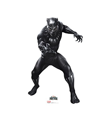 Advanced Graphics T'Challa/Black Panther - Black Panther (2018 Film) Life Size Cardboard Cutout Standup