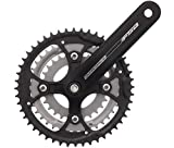 Quality FSA Dyna Drive Crank Set Power Drive Spline 44t /32t/22t Triple Alloy ATB Bike Bicycle 175mm Black