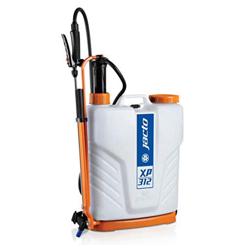 Jacto XP312 Backpack Sprayer, Professional UV Resistant Garden Pump, Perfect for Pesticide Control,...