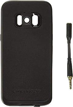 Lifeproof FRē Series Waterproof Case for Samsung Galaxy s8 - Retail Packaging - Asphalt  Black/Dark Grey