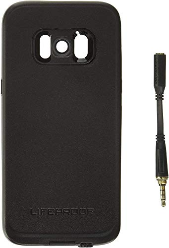 Lifeproof FRē Series Waterproof Case for Samsung Galaxy s8 - Retail Packaging - Asphalt (Black/Dark Grey)