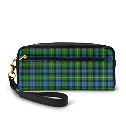 Pencil Case MacLeod of Skye Tartan Pen Bag Makeup Pouch Wallet Large Capacity Waterproof for Students or Women