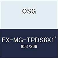 OSG エンドミル FX-MG-TPDS8X1゚ 商品番号 8537266