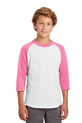 Pink Kids Ringer T-Shirt - 2