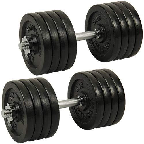 [リーディングエッジ] アイアンダンベル 80kg (片手40kg×2個) LE-IDB40-2 LE-DS46L/LE-IDBP5-4