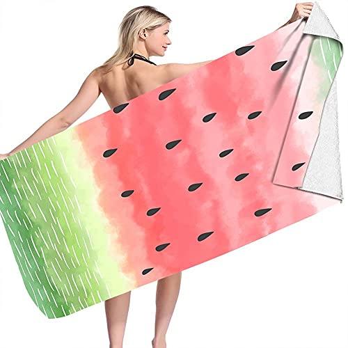 WANGIRL Toalla Microfibra Impresión de Frutas Toalla de Playa Antiarena de Microfibra para Hombre Mujer Toallas Baño Bohème para Piscina Manta Playa Yoga Deporte (Color : A 1)