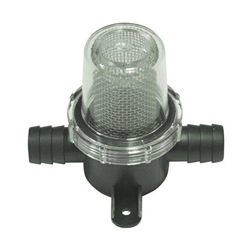 Wasserfilter Grob Filter für 13 mm Wasserschlauch Wasserpumpe Vorfilter Wassertank Einbaufilter Druckwasserpumpe