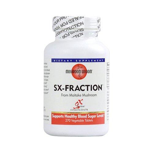 Mushroom Wisdom SX Fraction Vegetable Tablets, 270 Count