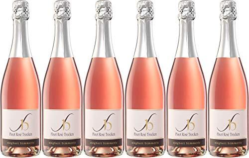 Siegbert Bimmerle Pinot Rosé Sekt 2018 Trocken (6 x 0.75 l)