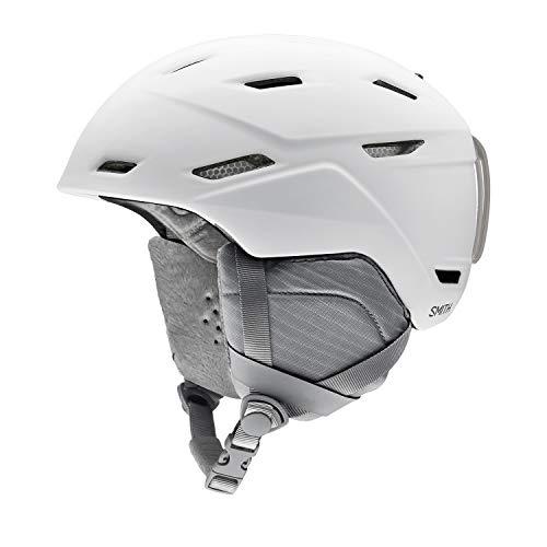 Smith Optics Mirage Women's Ski Snowmobile Helmet - Matte White/Medium